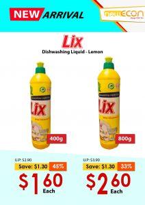 LIX Dishwashing Liquid